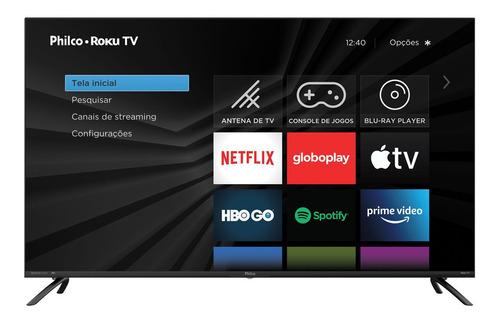 Smart Tv Philco 50 Polegadas 4k Ptv50rcg70bl Roku