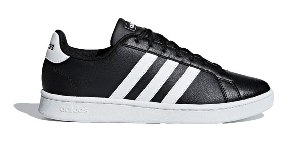 adidas Zapatillas Lifestyle Hombre Grand Court Negro-bco Fkr