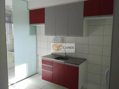 Apartamento Com 2 Dormitórios À Venda, 44 M² Por R$ 200.000 - Jardim Do Lago Continuação - Campinas/sp - Ap5432