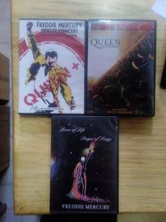 Queen Freddie Mercury 3 Dvd