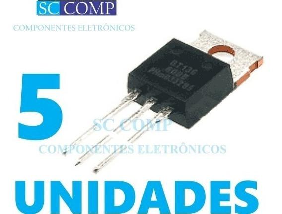 5pçs Triac Bt136 Bt136-600e