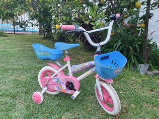 Bicicleta Nena Rodado 12 Peppa Pig