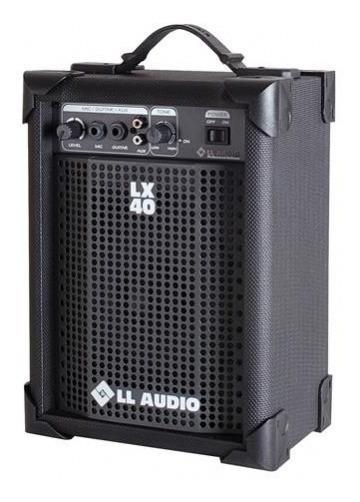 Caixa De Som Amplificada Microfone Karaoke Subwoofer Tweeter