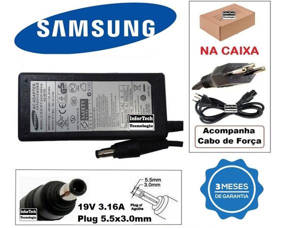 Fonte Carregador Notebook Samsung 19v 3.16a Promoção!