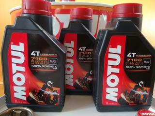 3 Litros Motul 7100 5w40 ( Bmw,f800,1200,triumph, Hd,honda)