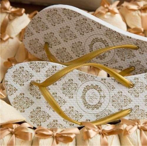 120 Sandalias Personalizadas Casamento +brinde
