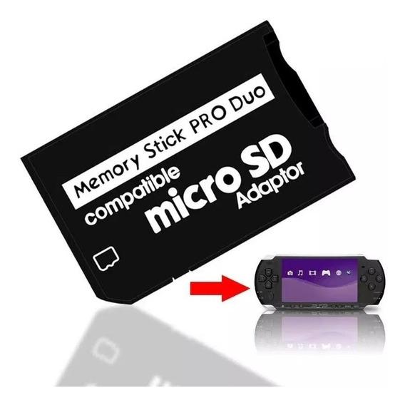 Adaptador Memory Stick Pro Duo Cartão Sony Psp