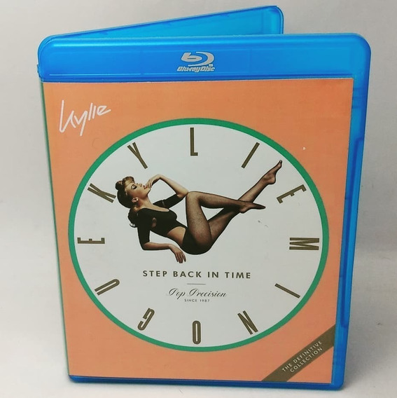 Blu-ray Kylie Step Back In Time