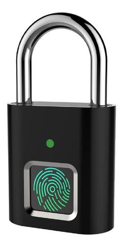 Cadeado Inteligente De Impressão Digital Biométrica S/chaves