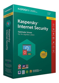 Kaspersky Internet Security 3 Pc 1 Año 2018 + Acronis