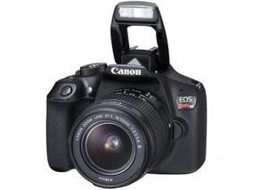 Câmera Digital Canon Eos Rebel T6 18mp - Profissional 3 Ful