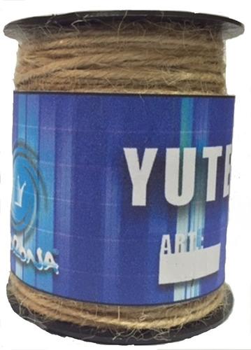 Hilos Sisal O Yute Cordoncito Yute 32/5 * 20 Mts (3 Mm)