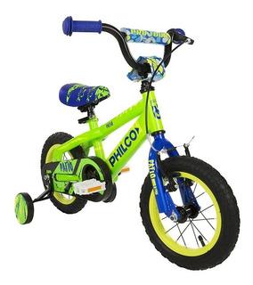 Bicicleta Para Chicos Philco Rod 12 Bicicleta Niños Cuotas
