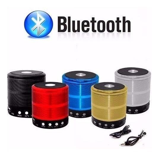 Caixa De Som Bluetooth 5w Com Sd Card P2 Usb Ws-887 Prata