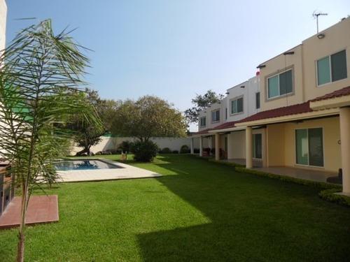 Casa En Condominio En Pedregal De Las Fuentes / Jiutepec - Est-733-cd*