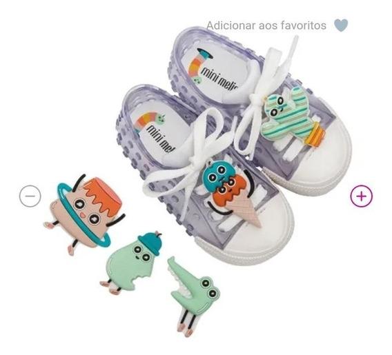 Tênis Mini Melissa Polibolha + Turma Do Pudim (infantil)