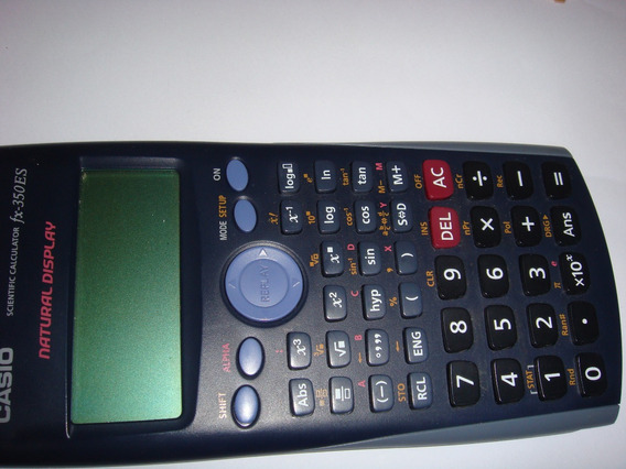 Calculadora Científica Casio Fx 350es