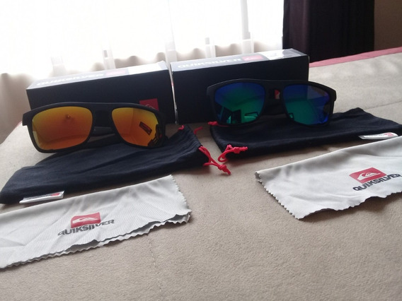 Gafas De Sol, Marca Quicksilver, Azul Y Amarillo.