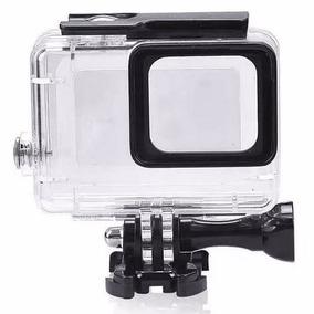 Caixa Estanque Protetora Prova Água Go Pro Hero 5 6 7 Black