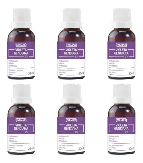Farmax Violeta Genciana 30ml (kit C/06)