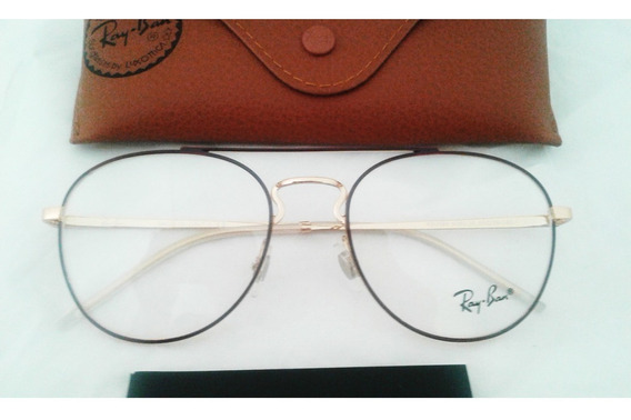 Lentes Ray Ban Oftalmicos Armazon Rb3589 Double Bridge 55mm