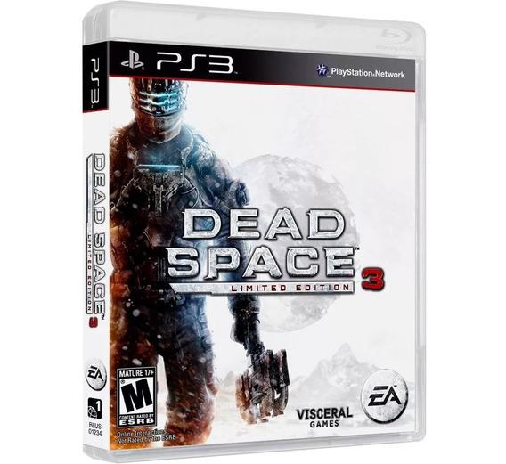 Dead Space 3 Ps3 Playstation 3 Mídia Física Novo Lacrado