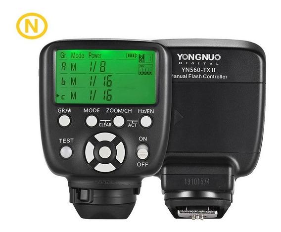 Rádio Flash Yongnuo Transmissor Yn 560 Tx Ii - Para Nikon