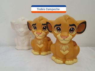 Paquete Alcancías Estatuillas Tema Rey León