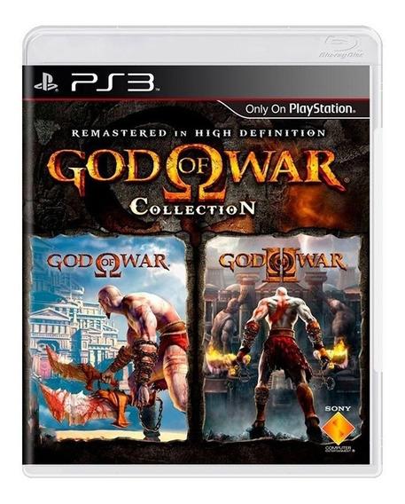God Of War Collection - Ps3 - Original - Física - Usado