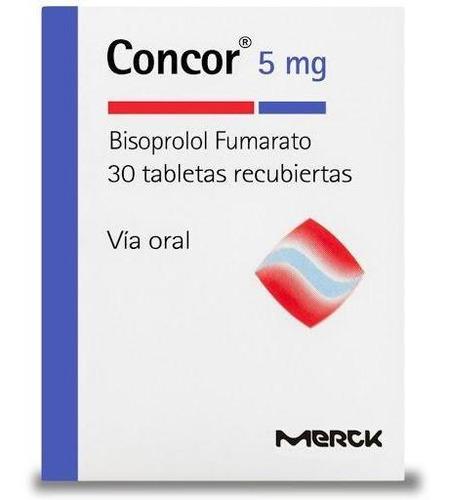 Concor 5mg Tabletas Caja