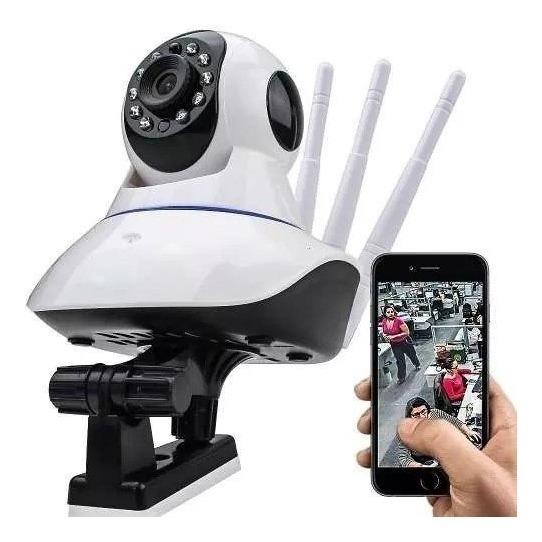 Câmera Ip 3 Antenas Wireless Alta Resolução Segurança 1310