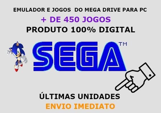 Emulador Dgen ( Emulador + Jogos Do Mega Drive ) Jogos Pc