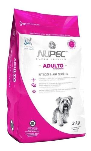 Imagen 1 de 1 de Alimento Nupec Nutrición Científica Raza Pequeña para perro adulto de raza pequeña sabor mix en bolsa de 2kg