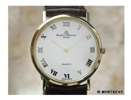 Baume & Mercier 15147 Classima 18k Ouro Maciço Ac. Proposta