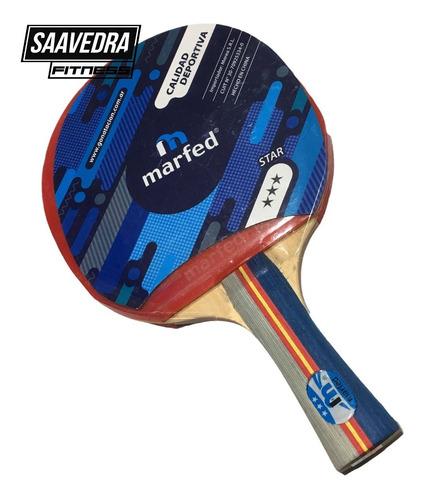 Paleta Ping Pong 3estrellas Marfed Tenis De Mesa Profesional
