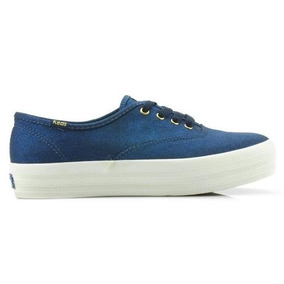 Tenis Keds Canvas Kd794003 Feminino Azul - Coutope