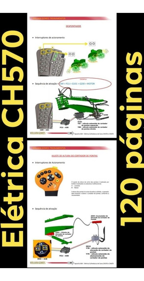 Apostila De Treinamento Elétrica John Deere Ch570 E Ch670