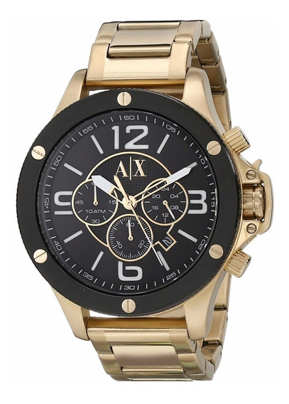 Relógio Armani Exchange Gold Ax1511