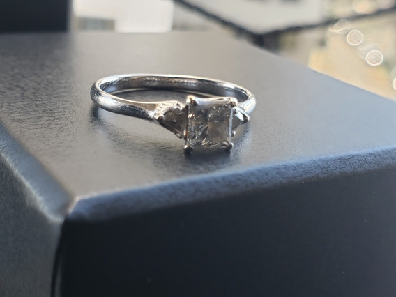 Anel Diamantes Ouro 18k Princesa - H. Stern A Vista 20.000