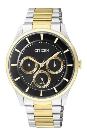 Relógio Citizen Masculino Prata/dourado Tz20608p
