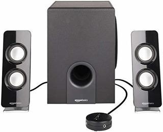 Amazonbasics Altavoces Bluetooth Con Subwoofer De 21 A 30 W