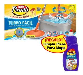 Turbo Facil Mopa Iberia Pronto Balde Centrifugo Lampazo 360°