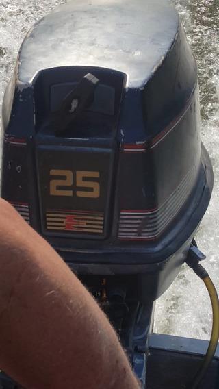 Vendo Motor De Barco / Popa Evinrude De 25 Hp