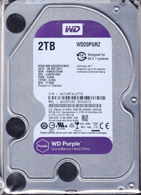 Hd Wd Purple Surveillance 2tb 64mb Wd20purz