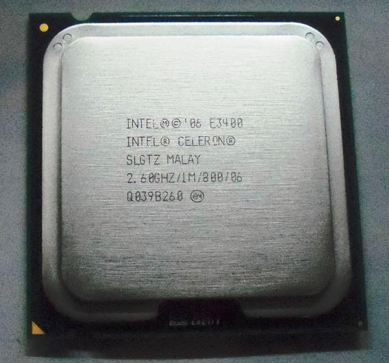 Processador Intel® Celeron® Dual-core E3400 2.60ghz Lga-775
