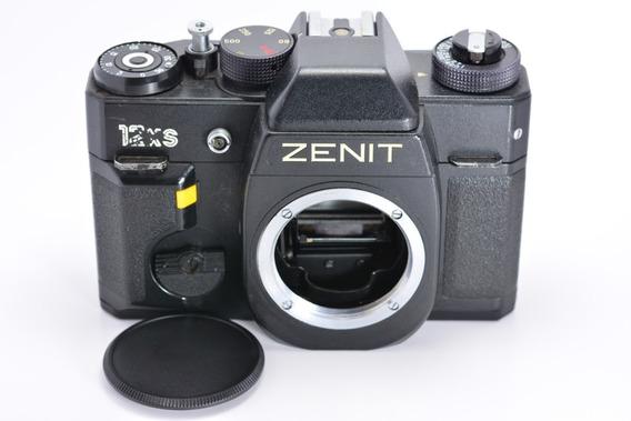 Zenit 12xs Câmera Analógica Vintage 35mm Item Colecionador