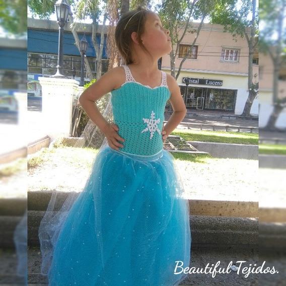 Vestido De Princesa Fiestas Infantiles