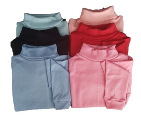 Camiseta Blusa Cacharrel Kit C/6 Infantil Bebê Ribana 1 Ao 8