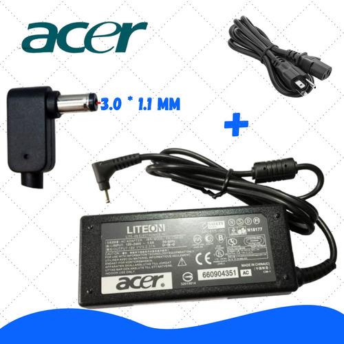 Cargador Acer Chromebook 11 13 14 Cb3 C720 Incluye Cable