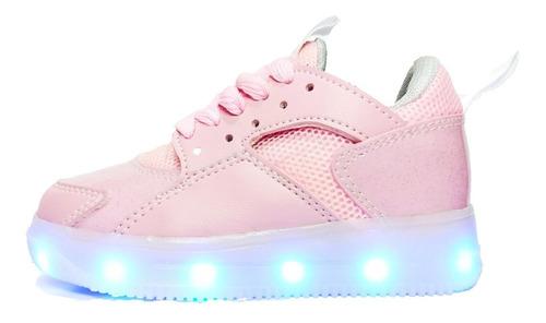 Zapato Tenis Led  Niño (luces - Luminosos)  Usb Recargable